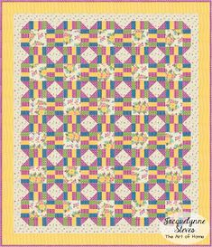 Cozy Afternoon Free Block of the Month- Block 1 Quilt- Jacquelynne Steves