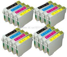 16 Compatible T0711-714 INK CARTRIDGES FOR EPSON STYLUS SX100 SX105 SX110 SX115 SX200 PRINTER