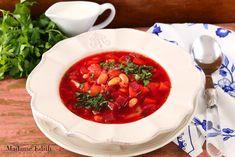 barszcz ukraiński Dairy Free, Gluten Free, Allergy Free, Egg Free, Chana Masala, Beets, Paleo Recipes, Thai Red Curry, Stew