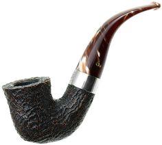 New Tobacco Pipes: Peterson Christmas 2015 Sandblasted (05) Fishtail at Smokingpipes.com