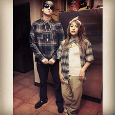 Cholo & chola halloween costume