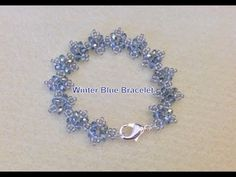 Winter  blue  bracelet