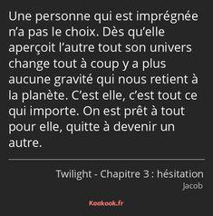Film Twilight, Citations Film, Tweet Quotes, Bad Mood, Life Goals, Quotations, Real Life, Films, Change