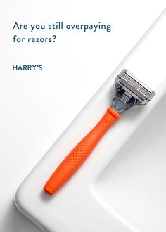 Are you still overpaying for razors? Get Harry's delivered to your door for less than $2 per blade. Start with a free trial, just cover shipping.