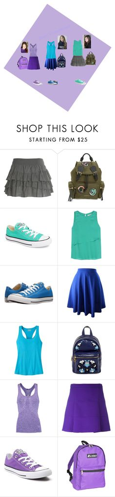 """BBF's"" by jadehupkes ❤ liked on Polyvore featuring Burberry, Converse, Etro, Mountain Khakis, Cynthia Rowley, Athletic Propulsion Labs, Victoria, Victoria Beckham and Everest"