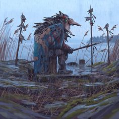 Vagabonds - The Pike Lord von Simon Stålenhag
