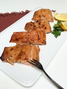 Brown Sugar Glazed Salmon Recipe, This salmon has a flavorful, sweet glaze to it and it's moist on the inside.