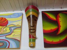 mascara de palmera Palm Frond Art, Palm Fronds, Palm Tree Leaves, Palm Trees, Ava, Art Projects, Art Drawings, Christmas Tree, Outdoor Decor