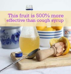 This Fruit is 500% More Effective Than Cough Syrup | Beauty and MakeUp Tips