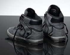 Supra Vaider Charcoal Canvas Limited Edition