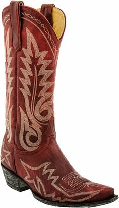 Old Gringo Nevada women's boot (Red)