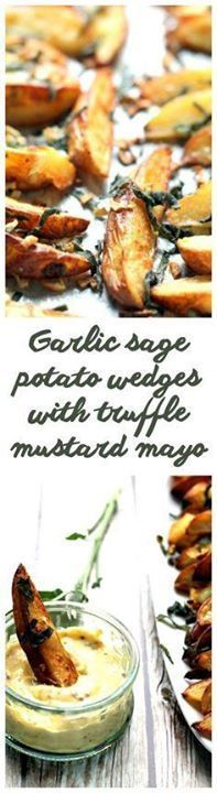 Super tasty oven bak Super tasty oven baked potato wedges and a...  Super tasty oven bak Super tasty oven baked potato wedges and a home made truffle mayonnaise - this is packed with flavor and makes an amazing snack side dish or appetizer! Recipe : http://ift.tt/1hGiZgA And @ItsNutella  http://ift.tt/2v8iUYW