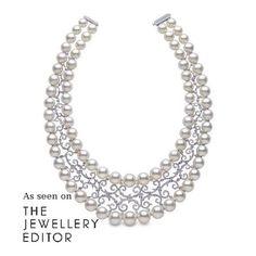 Bridal jewellery to covet with @yoko_london Elegancia necklace #diamonds…