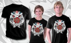 Forest Spirit Protector t-shirt by InkOne