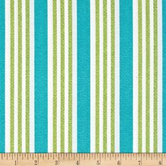 Michael Miller Suzette Everyday Stripe Sea from @fabricdotcom  Designed for Michael Miller Fabrics. This fabric is perfect for quilting, craft projects, apparel and home decor accents. Colors include green, aqua and white.