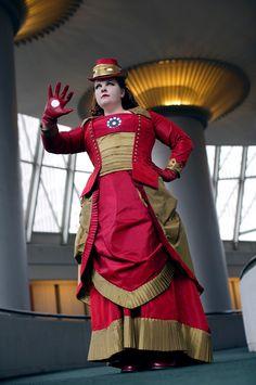 cosplay-victorian-steampunk-ironman-crossplay