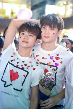 Can & Tin - Love by Chance Boys Like, Cute Boys, Cute Guy Pics, Kdrama, Lgbt Love, Cute Gay Couples, Cute Actors, Thai Drama, Free Instagram