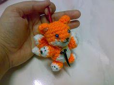 Kawaii Miniature : Fox Kyuubi Amigurumi