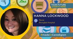 A Health and Care course at college helped former store manager, Hanna Lockwood, pursue her goal of becoming a professional Nurse. #madeinCeredigion