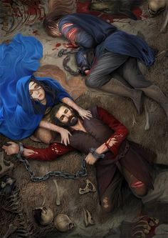 Ten years later during the Quest for the Silmaril, Beren Erchamion on his quest for the Silmaril enlisted Finrod's aid, but they were captured passing the isle when Sauron defeated Finrod in a spel...