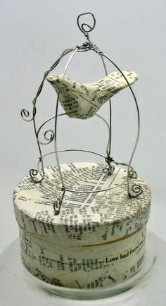 little handmade wire cage - Google Search