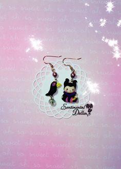 Maleficent Jewelry, Sleeping Beauty, Disney Villains Earrings, Maleficent Angelina Jolie Inspired Jewelry, Kawaii Maleficent, Chibi Charms on Etsy, $16.36 AUD
