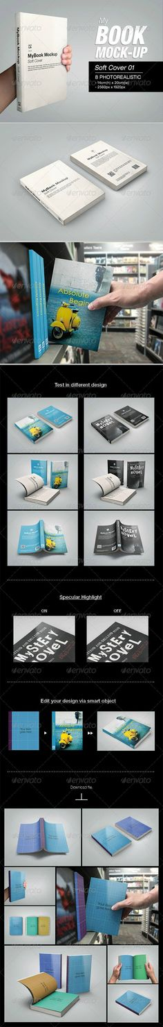 MyBook Mock-up – Soft Cover 01 6826287 » Free Hero Graphic Design: Special GFX Posts Vectors AEP Projects PSD Sources Web Templates 3D Stock Images | HeroGFX.com