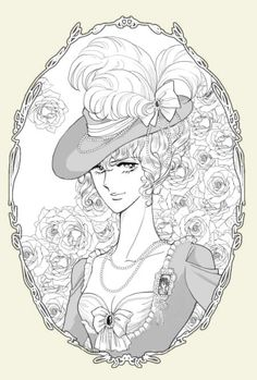 Lady Oscar--- Kodemari art