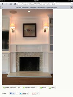 Ideas for refacing fireplace hearth