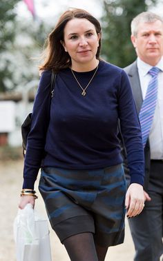 Rebecca Deacon during an official visit by Catherine Duchess of Cambridge to the Action on Addiction Centre for addiction treatment studies at Action...