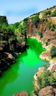 River Venetikos, Grevena, Greece