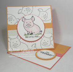 This Little Piggy.. - Dawn's Stamping Thoughts
