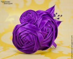 Купить цветы из атласных лент в украине доставка цветов альстрамерия