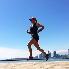 Feeling like I'm flying today on tempo run. Getting super excited for another season with @longboatrr @mizunorunning @polarglobal