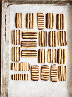 Recette de Ricardo de biscuits trois saveurs