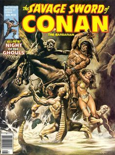 The Savage Sword of Conan - Nº 32