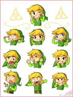 Link makin Faces!