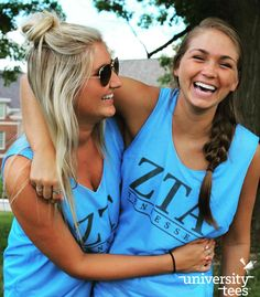 Reversible mesh jerseys and sunshine | Zeta Tau Alpha | Made by University Tees | www.universitytees.com