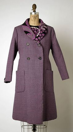 Suit (coat and dress)   Geoffrey Beene (American, 1927-2004)   United States, 1968-1969   The Metropolitan Museum of Art, New York
