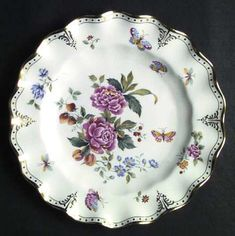 """""""Derby Days"""" china pattern from Royal Crown Derby."""