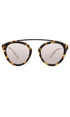 f3a1a3ee1d2 WESTWARD LEANING Flower 1 Sunglasses in Sand Tortoise Matte Flower  Sunglasses