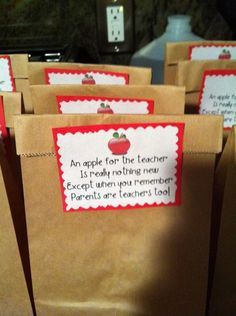 FIRST DAY OF SCHOOL CLASSROOM FAVORS TREATS :: Hope You ...