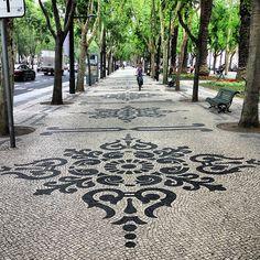 Avenida da Liberdade in Lisboa, Lisboa