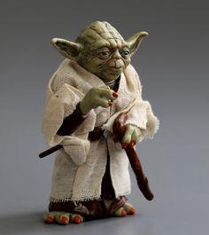 Star war action-figur spielzeug Jedi Knight Meister Yoda PVC action spielzeug 12 cm