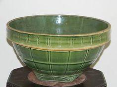 Large Vintage McCoy Pottery Mixing Bowl