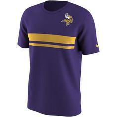 Nike Minnesota Vikings Purple Color Rush Stripe T-Shirt #vikings #nfl #minnesota