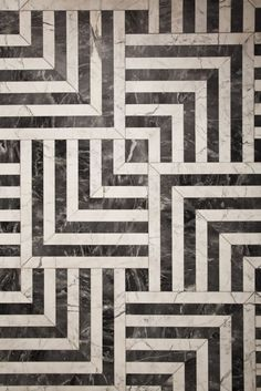 High-Contrast Floor Pattern | Kelly Wearstler