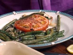 Get Honey Balsamic Green Beans Recipe from Food Network