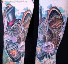 imágenes de tattoos buhos