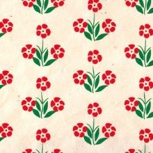 Nepalese fantasy paper, natural background, red and green flowers Natural Background, Flower Backgrounds, Green Flowers, Flower Prints, Deco, Paper, Nature, Shades, Japanese Paper